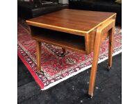 Danish side table occasional table trolley