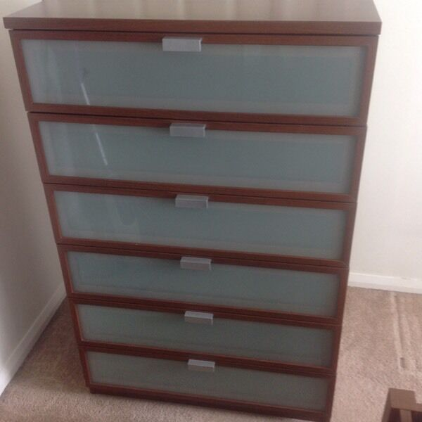 ikea hopen 6 drawer unit in durham county durham gumtree. Black Bedroom Furniture Sets. Home Design Ideas
