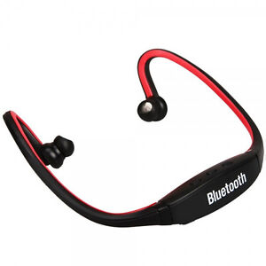 Sports Wireless Stereo Headphone earbuds w/Mic for iPhone 4S, iPod Touch series