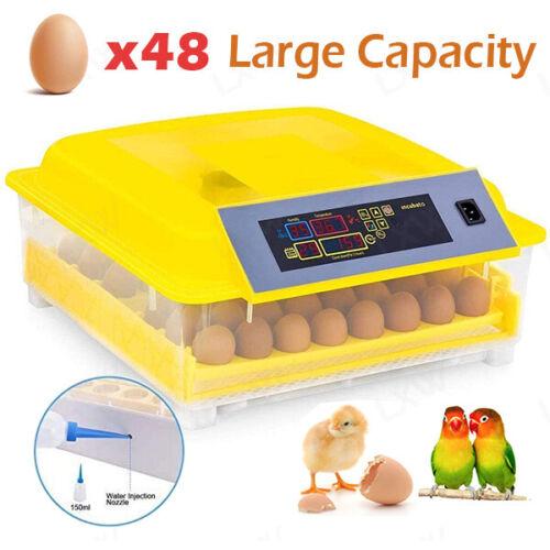 30 Egg Incubator Round Digital Hatcher Auto Egg Turn /Temp Control Hatching-Eggs