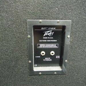 Peavey SP118X and EP2500 Amp for sale/ trade Oakville / Halton Region Toronto (GTA) image 6