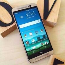 HTC M9 gold 32G UNLOCKED AU model with accessories Calamvale Brisbane South West Preview
