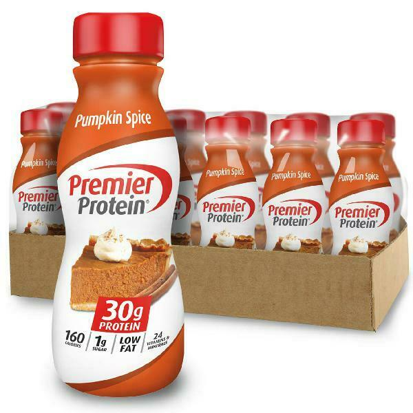Premier Protein Shake, Pumpkin Spice, 30g Protein, 11.5 fl o
