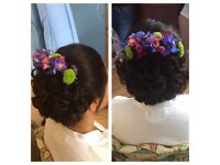 Wedding/special occasion hair pin ups, make up, nails and many more.