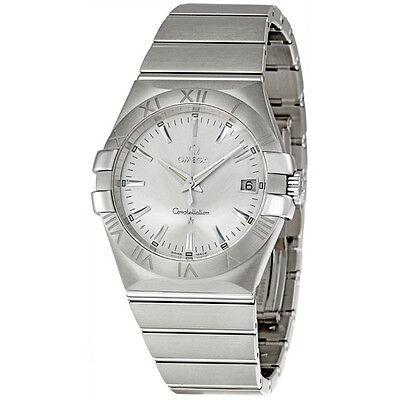 Omega Constellation Quartz 35mm Ladies Watch 123.10.35.60.02.001