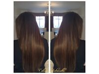 £85 VIRGIN RUSSIAN/INDIAN HAIR MINI TIP MICRO RING EXTENSIONS/QUALIFIED HAIRDRESSER/SAFEST METHOD