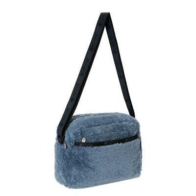 LeSportsac Classic Collection Daniella Crossbody Bag in Stone Sherpa NWT