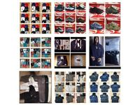 WHOLESALE TSHIRTS TRACKSUITS JUMPERS JACKETS POLO SHIRTS PERFUME!!