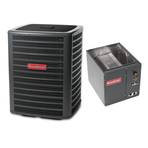 4 Ton 15 Seer Goodman 2-Stage Air Conditioning Condenser and