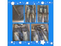 Gio goi women's jeans blue faded size 10