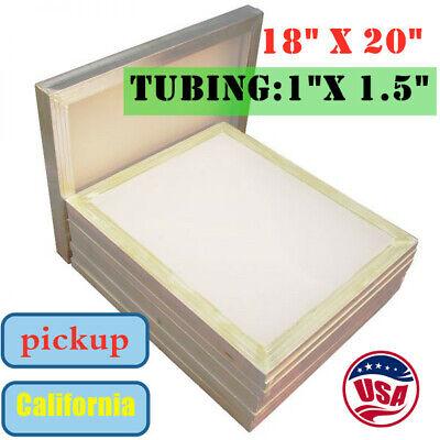 Pickup 6pack 18 X 20 Screen Printing Frame Aluminum Screens With 110 Mesh