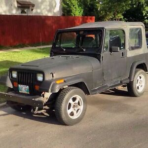 1992 jeep yj PARTS WANTED