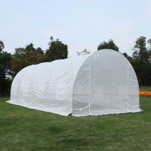 20x10x7ft Heavy Duty Walk-in Greenhouse White Brand New in box direct from factory call now 6477657501