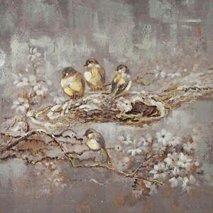 Oriental Birds Nest Print Canvas Floral Wall Art Artwork Camp Hill Brisbane South East Preview