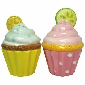 Lemon Lime Cupcakes Salt Pepper Shakers New | eBay
