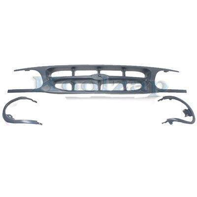 95-01 Explorer Front Face Bar Grill Grille Assembly Chrome FO1200374 F87Z8200NAD