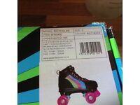 Roller skates and protectors