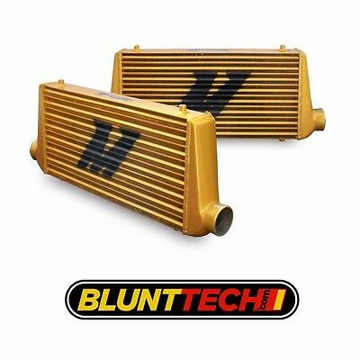 MISHIMOTO Performance Universal Eat Sleep Race ALL GOLD M Line Intercooler