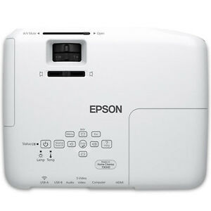 Epson Powerlite Home CInema 730HD 720p Projector w/ cieling mnt Cambridge Kitchener Area image 4