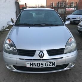 Renault Clio Extreme 1.2 16v (silver) 2005
