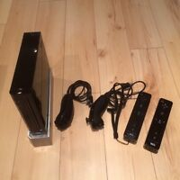 Wii console + 17 games