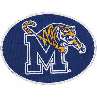 Repositionable Stick - NEW! Memphis Tigers Peel & Stick Repositionable Embroidered Patch