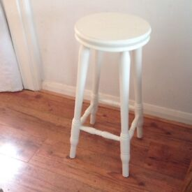 Shabby Chic Pine Kitchen Bar Stool