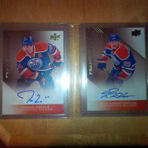 Oilers Collection Franchise Ink Autos - Eberle & Nugent-Hopkins
