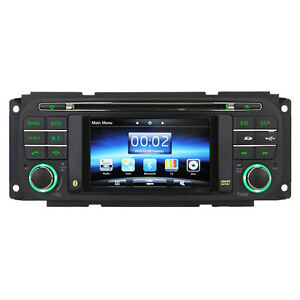 Indash Radio DVD GPS Navigation for Jeep Grand Cherokee &Dodge Ram1500& Chrysler