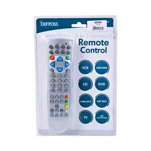 how to set up a universal remote to tv