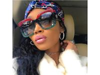 GUCCI style Oversize Sunglasses
