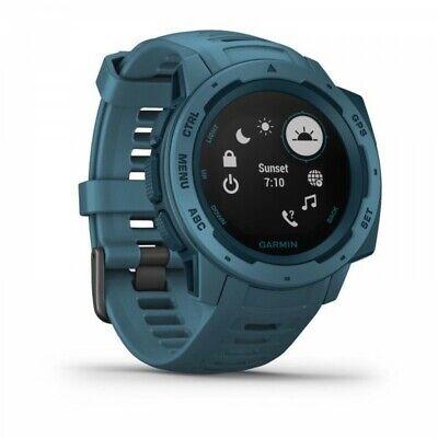 Garmin Instinct Resistente Fitness Exterior Reloj GPS - Lakeside Azul