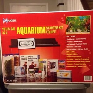 10 gal aquarium with $500 extras Cambridge Kitchener Area image 1