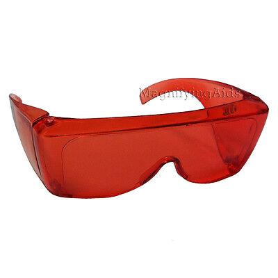 NoIR U98 UV Shield Glasses - Light Red , Low Glare, UV Protection, (Noir Uv Shield Glasses)