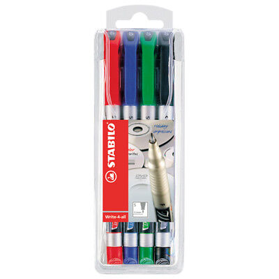 Stabilo Write4all Pen Wallet 4 Fine