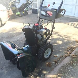 Craftsman 250 cc engine X 24 inches wide auger