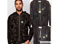 Stone island jacket not moncler versace armani