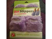 Aromatherapy Microwavable Slippers