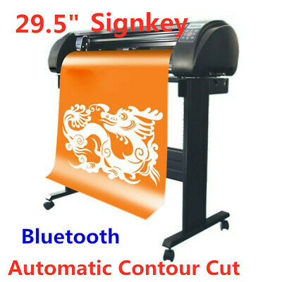 29.5 Signkey Vinyl Sign Cutter With Automatic Contour Cut Function Bluetooth O