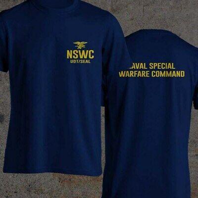 Navy SEAL BUD/S NSWC UDT/ SEAL HELL WEEK BLUE Black and Navy Blue S-3XL T-Shirt Black Xlt Shirt