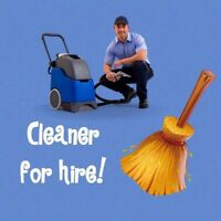 Apartment building cleaner- West-Island