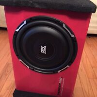 400w subwoofer and amp