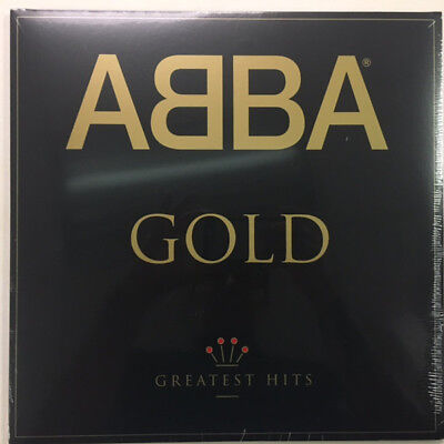 ABBA ‎- GOLD Greatest Hits 2 x LP 180 Gram Vinyl Album Dancing Queen NEW RECORD