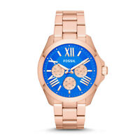 fossil Cecile Multifunction Stainless Steel Watch  Rose Gold new