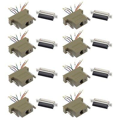 другие разъемы, инструменты 8x 25-Pin DB25