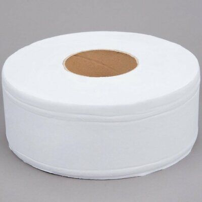 Jumbo Toilet Paper Roll With 9 Diameter White Large Janitorial 12 Case