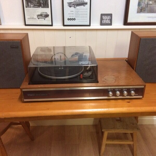 Record Player Prinz Sound Stereo Vintage Turn Table In