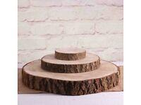 Wooden log slicec
