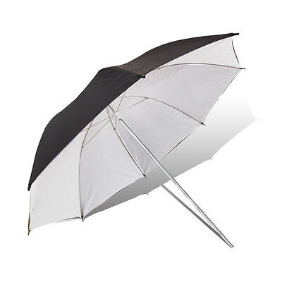 "43"" 110cm Black White Reflective Umbrella Diffuser For Photo Studio Lighting"