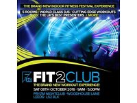 FIT2CLUB Indoor Fitness Festival at Pryzm
